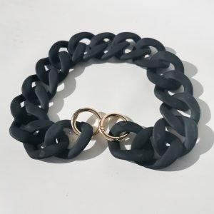 cadena bolso negra