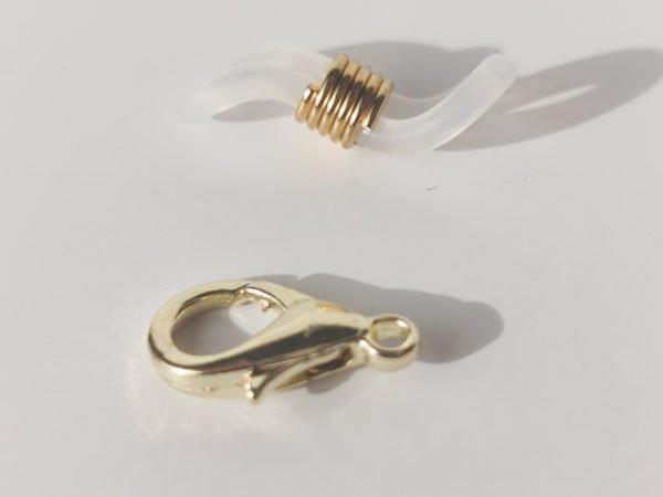Cadena porta gafas/mascarilla metal