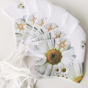 Mascarilla Sublime Girasol Blanco
