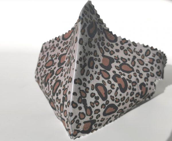 Mascarilla sublime leopardo