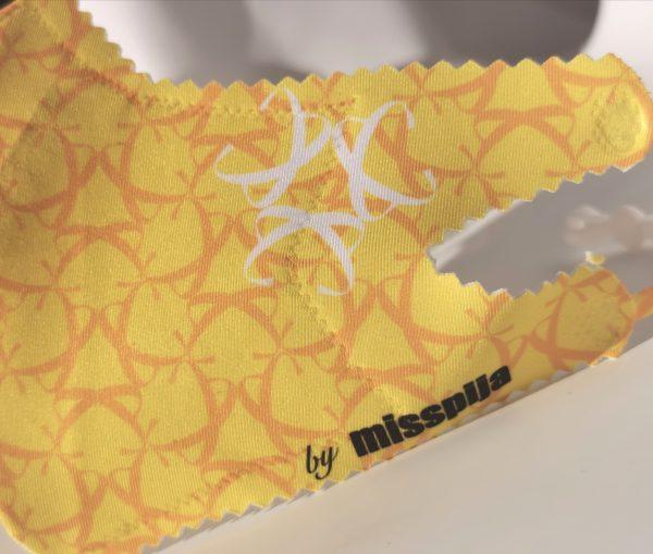 Mascarilla max amarilla