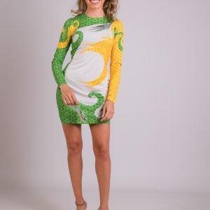vestido koral vert