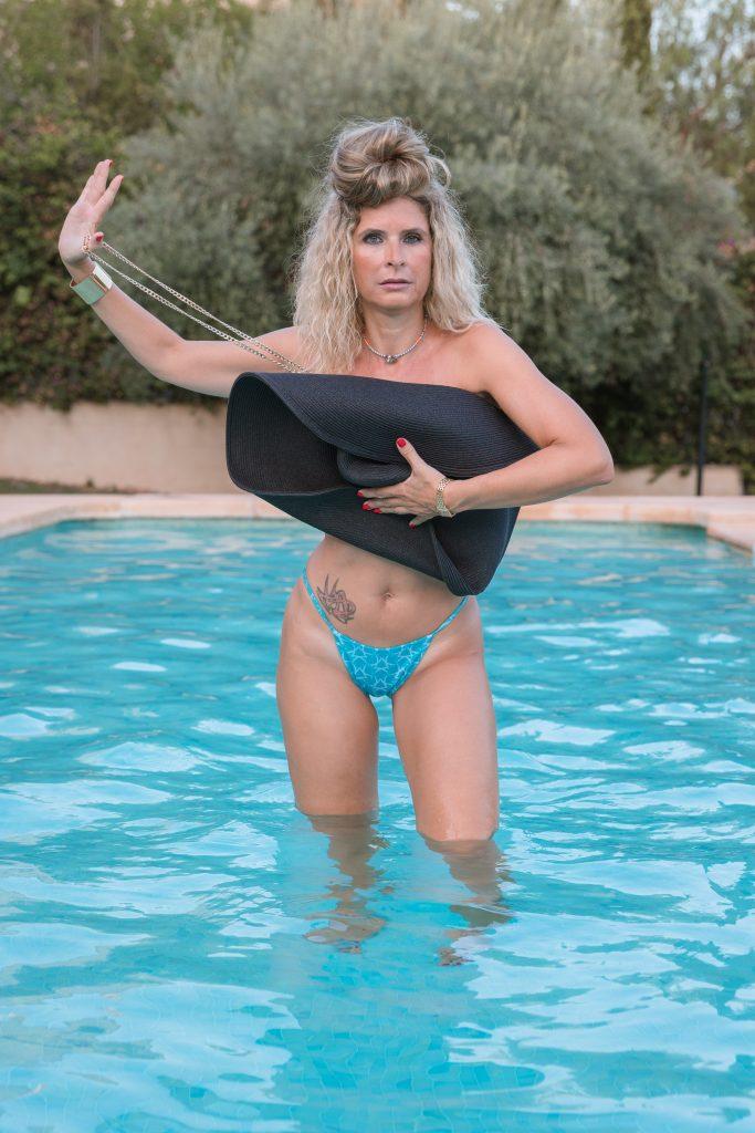Bikini basic line bleu -parte inferior-