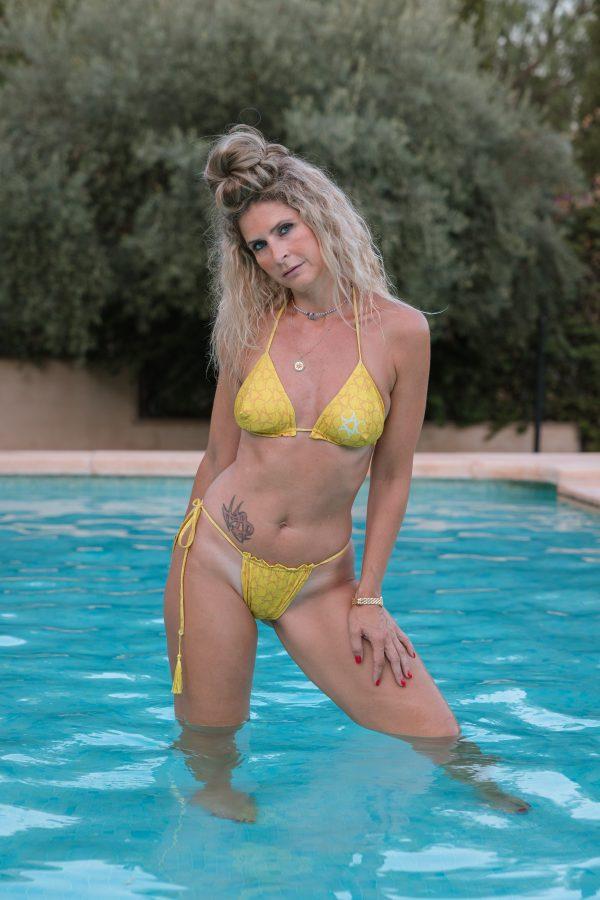 bikini micromax jaune