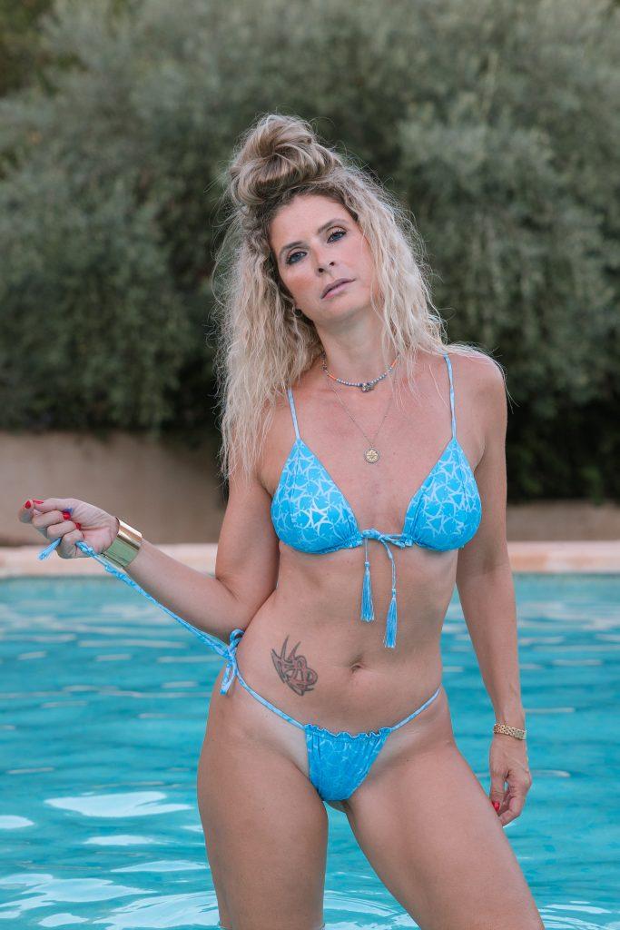 bikini micromax bleu